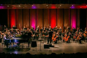 The Livemore-Amador Symphony preparing for Judy Collins at the 2016 Gala