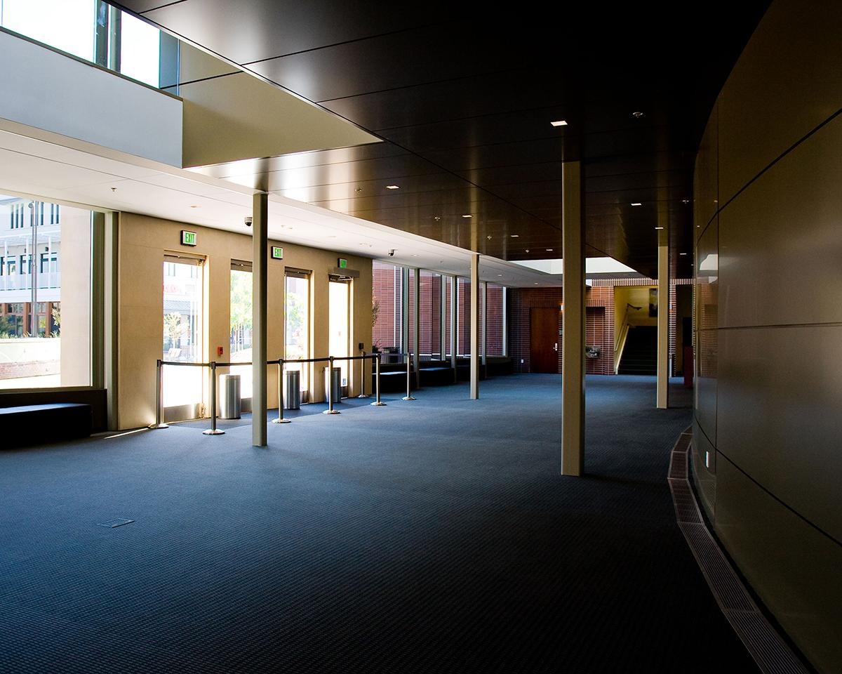 Bankhead Theater lobby area.