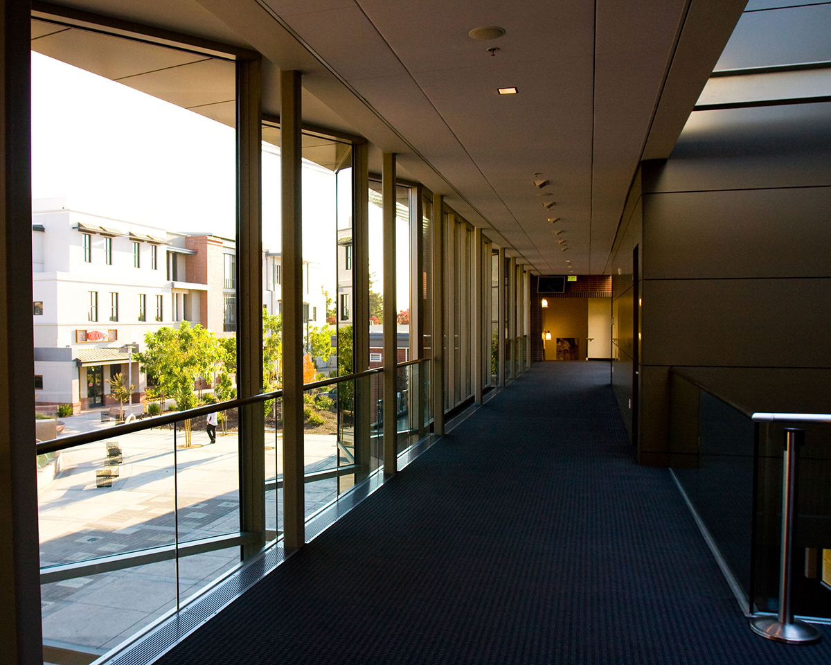 Second floor of the Bankhead Theater