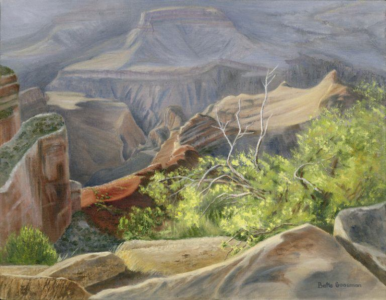 """Morning Light, Grand Canyon"""