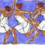 Figurative art, water art, dance art, Judith Kunzle