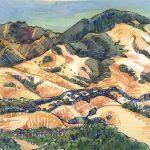 Tri Valley art, watercolor, Mt Diablo art, Judith Kunzle