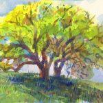 Tri Valley watercolor, art, Judith Kunzle